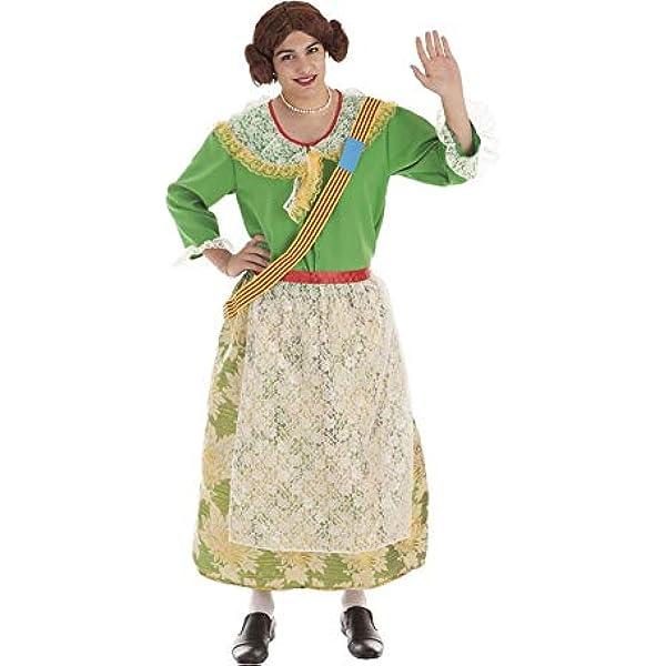 LLOPIS - Disfraz Adulto fallera: Amazon.es: Juguetes y juegos