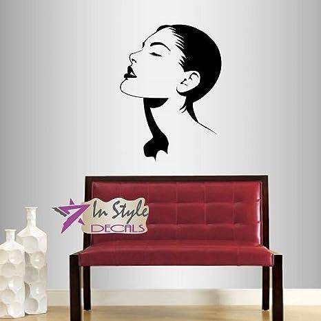 Wall Decals Manicure Beauty Salon Decal Girl Fashion Vinyl Sticker Art Design Murals Interior Beauty Hair Spa Decor ml69