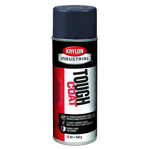 Krylon A00329 Tough Coat Enamel, 16 oz, Machinery Blue/Gray (Pack of 12)