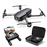 Photo : Holy Stone HS720 Foldable GPS Drone with 2K FHD Camera for Adults, Quadcopter with Brushless Motor, Auto Return Home, Follow Me, 26 Minutes Flight Time, Long Control Range, Includes Carrying Bag