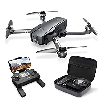 Holy Stone HS720 Foldable GPS Drone with 4K UHD Camera for Adults, Quadcopter with Brushless Motor, Auto Return Home, Follow Me, 26 Minutes Flight Time, Long Control Range, Includes Carrying Bag