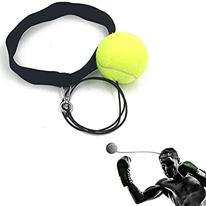 Boxing Gym Boxing Punch Fight Ball With Head Band For Reflex Speed Training Exercise