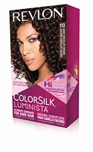 Revlon Colorsilk Luminista Haircolor, Dark Chocolate Brown, 1 Count