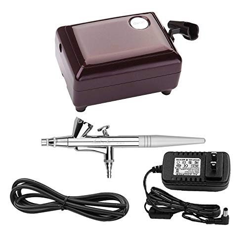 YENNY SHOP AIRBRUSH MAKEUP KIT, COSMETIC MAKEUP AIRBRUSH AND COMPRESSOR SYSTEM FOR FACE, NAIL, TEMPORARY TATTOOS, CAKE DECORATING