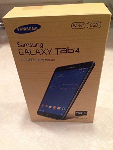 Samsung Galaxy Tab 4 7 8GB - Black with 8GB MicroSD Card