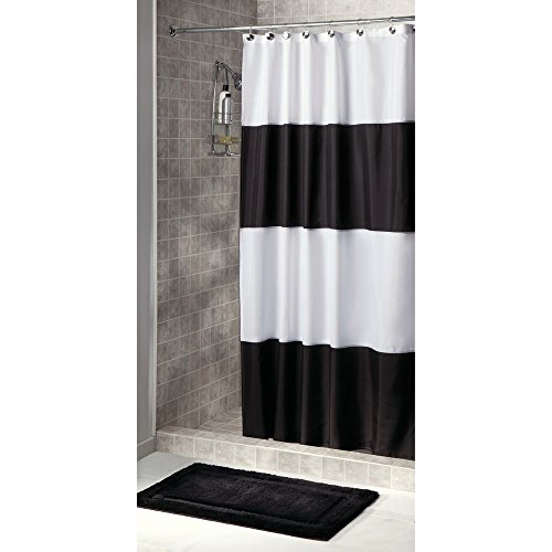 extra long fabric shower curtain - 8