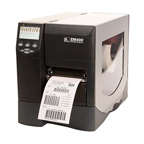Thermal Clock Zebra - Zebra ZM400 ZM400-2001-0000T Monochrome Direct Thermal/Thermal Transfer Desktop Label Printer, 203 DPI, 4.09