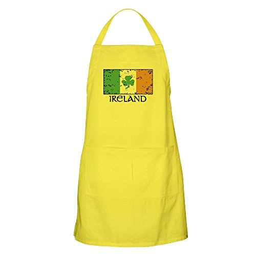 - CafePress Ireland Flag BBQ Apron Kitchen Apron with Pockets, Grilling Apron, Baking Apron