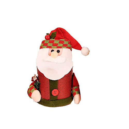 [Clearance Christmas Decorations ]-Lovely Snowman Reindeer Santa Claus Christmas Eve Candy Packing Box -