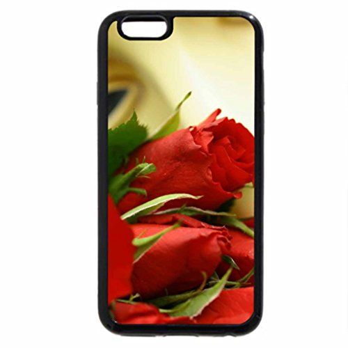 iPhone 6S / iPhone 6 Case (Black) LONG STEM ROSES FOR MY LOVE