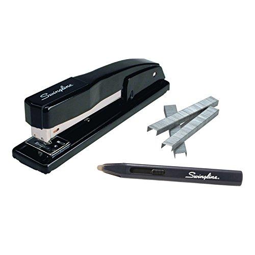 Swingline Stapler Value Pack, Commercial Desk Stapler, 20 Sheets Capacity, S.F. 4 Premium Staples, Staple Remover (S7044420) (210 Full Strip)