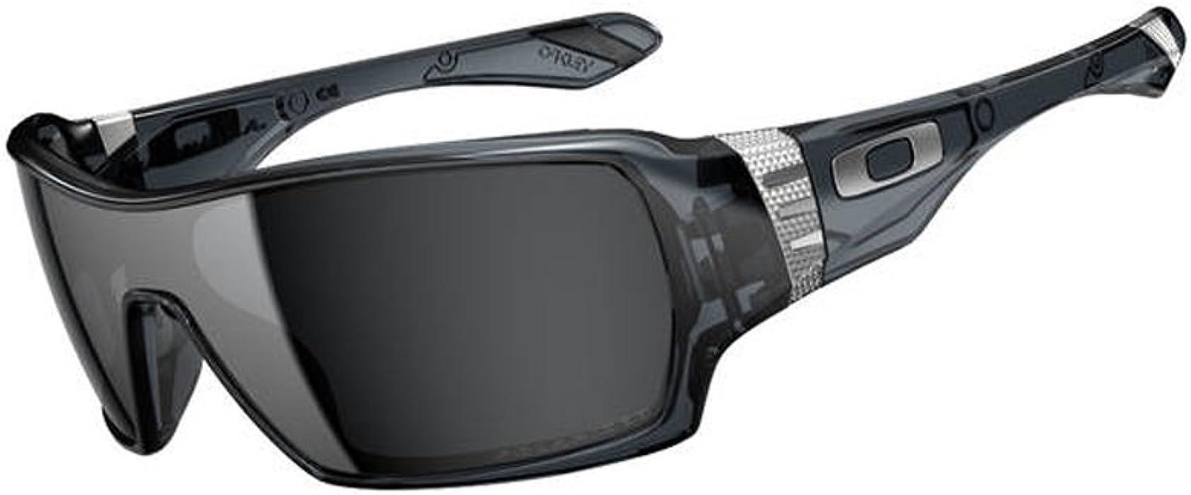 4658dd18937 Oakley Offshoot Men s Polarized Lifestyle Outdoor Rectangular Sunglasses -  Crystal Black Black Iridium One