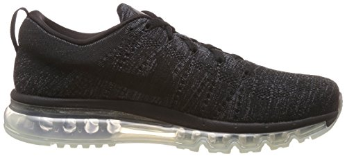 Noir Nike Max Noir anthrct Grey Entrainement Black Running dark Gris Black Homme de Taille Flyknit Chaussures frq5Zwvf
