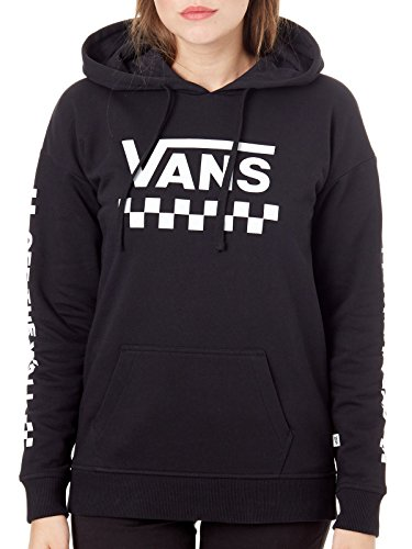 Vans Too Much Fun Womens Pullover Hoody Small Black