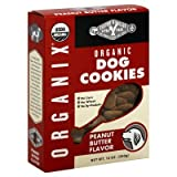 Organix Peanut Butter Dog Cookies, 12 Ounce -- 8 per case. by Castor & Pollux