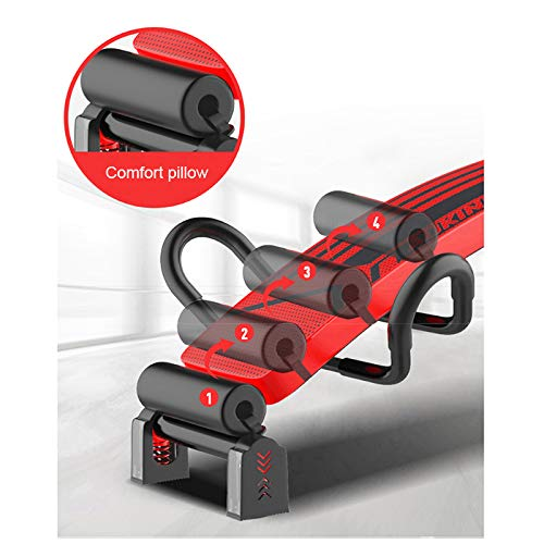 Crunch Board ,Multi-Purpose Foldable Incline//Decline Bench,Abdominal//Hyper Back Extension Bench Adking Exercise Bench Adjustable Bench Sit up Bench Slant Board Decline Ab Bench Crunch Board