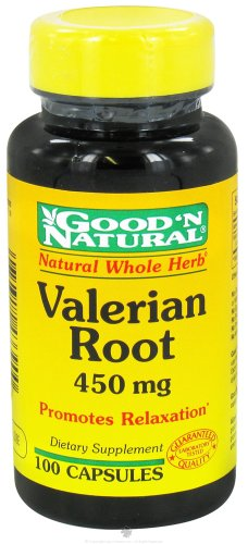 Good 'N Natural - racine de valériane 450 mg. - 100 Capsules