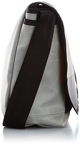 Chromen Klassieke Messenger Bag Unisex Grijs