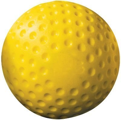 Champro Dimple Mold Soft Baseball (Yellow, 9-Inch) by Champro