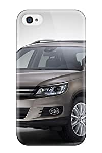 Rugged Skin Case Cover For Iphone 4/4s Eco Friendly Packaging Volkswagen Tiguan 2