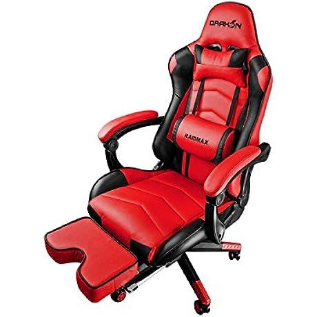 Raidmax Drakon 709 Gaming Chair Red