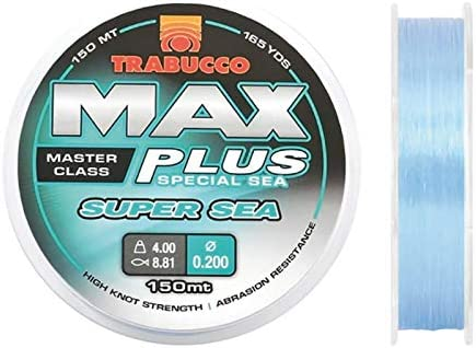 Trabucco - Hilo de Pesca MAX Plus Super Sea 0,40 mm 13,50 kg 1000 ...
