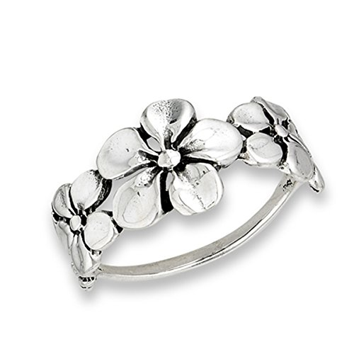 Prime Jewelry Collection Sterling Plumeria