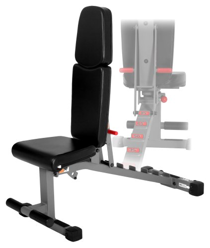 XMark Fitness Commercial Rated Adjustable Dumbbell Weight Bench