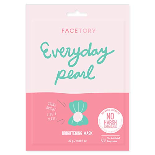 Everyday Pearl Korean Sheet Mask (Single) - Strengthening, Balancing, and Brightening