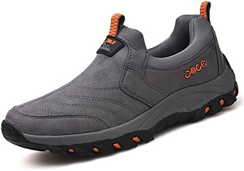 Hiking Shoes Breathable Non-Slip Outdoor Shoes Shock Off-Road Travel Shoes Multi-Purpose Walking shoes-grey-41