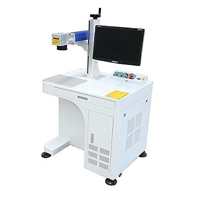 DIHORSE Fiber Laser Engraving Marking Machine Metal Etching System (Raycus 20W)
