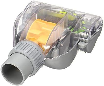 GIlH Cepillo universal para aspiradora turbo con motor de viento, cepillo para piso para eliminar el pelo de mascotas: Amazon.es: Bricolaje y herramientas