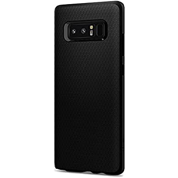 Spigen Liquid Air Armor Galaxy Note 8 Case with Durable Flex and Easy Grip Design for Galaxy Note 8 (2017) - Matte Black