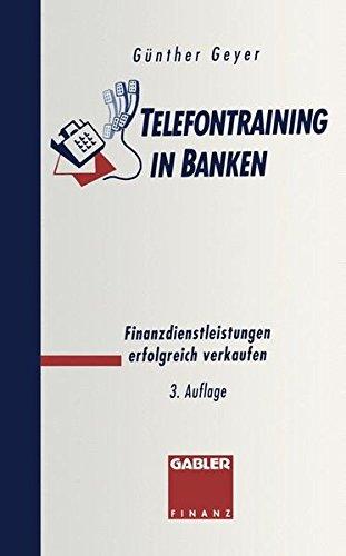 Telefontraining In Banken  Finanzdienstleistungen Erfolgreich Verkaufen