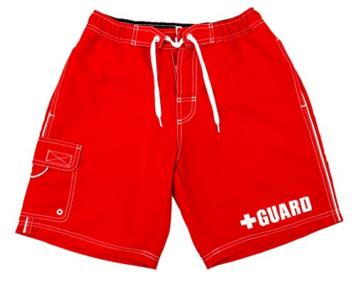BLARIX Lifeguard Shorts Trunks Swimsuit