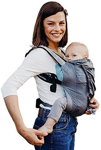 حامل اطفال من بوبا، لون رمادي، جيد التهوية – (BC3-019-Grey)