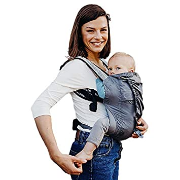 25721006dd1 Amazon.com   Boba Air Baby Carrier - Grey - Breathable mesh Shoulder ...