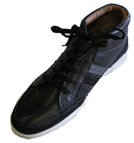 Sneaker En Cuir Pour Homme Ara Noir