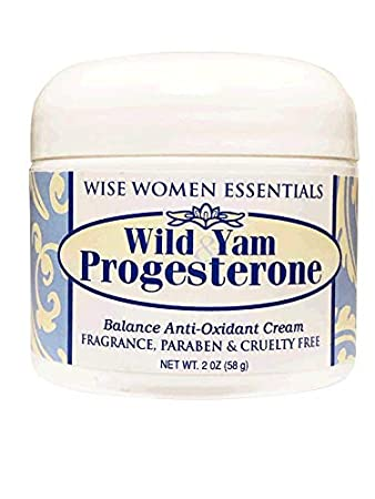 Wise Essentials Wild Yam & Progesterone Cream Bio Identical with Chaste  Tree Berry May