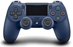 The DUALSHOCK 4 wireless controller features familiar controls, and incorporates several innovative features to usher in a new era of interactive experiences. Its definitive analog sticks and trigger buttons have been improved for greater fee...