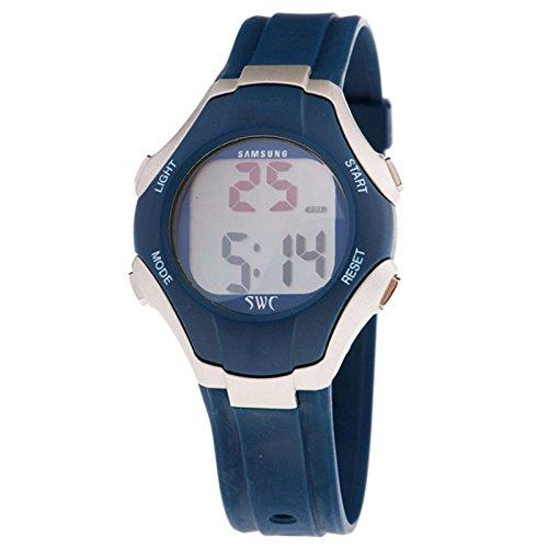 Samsung Sd-060bl Reloj Digital para Chico Caja De Resina Esfera Color Gris: Amazon.es: Relojes