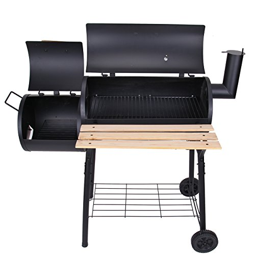 Ridgeyard Backyard Charcoal Barbecue Grill BBQ Offset Smoker