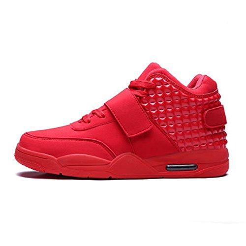 Lacets Sneakers pour Sport Trail Mesh Scratch Mode Semelle Rouge 44 Basket 39 Léger Compétition de PU Antidérapant Chaussure Homme xqwCzFBE