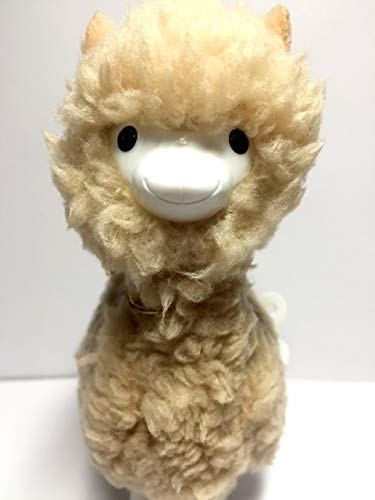 (YEEMAX 5.1 Inch Tall Adorable Plush Alpaca Wind-up Walkers,Birthday and Reward Gift for Kids, Stress Relief for Adults, Desktop Decoration (Camel) )