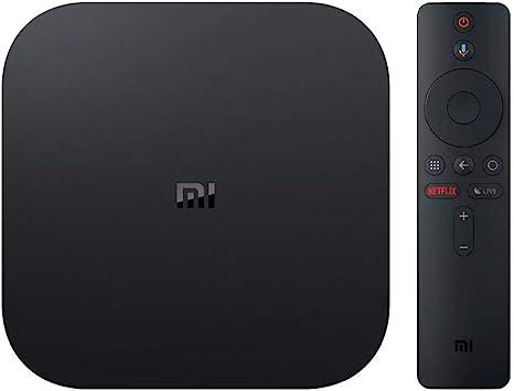 Xiaomi Mi Box S - Reproductor Multimedia 4K Ultra HD con Mando a Distancia por Voz, Color Negro: Amazon.es: Electrónica