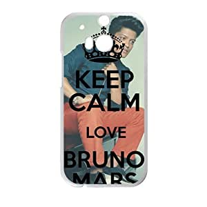 DAZHAHUI Bruno Mars durable Cell Phone Case for HTC One M8