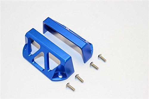 CrazyRacer for 1/10 RC Upgrade Parts E-Revo 2.0 E-Revo Revo Aluminum Servo Protector,Steering Servo Guards Replace of #5315 -2pcs Set - Revo Steering Aluminum