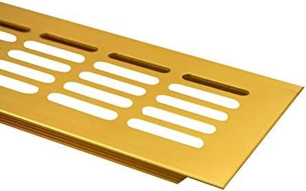 MS beschl/äge grille da/ération /à encastrer en aluminium 100 x 400 mm
