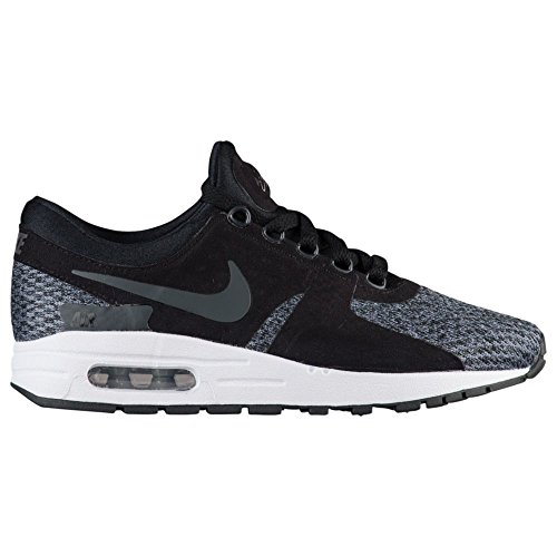 NIKE Kids Air Max Zero Essential PS Running Shoe Black/Anthracite-cool Grey