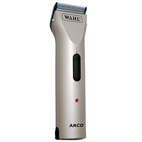 Show Pro Horse Clipper - Wahl Professional Animal ARCO Cordless Pet Clipper and Grooming Kit, Champagne (#8786-452)